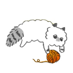 Ragdoll Cat Sticker