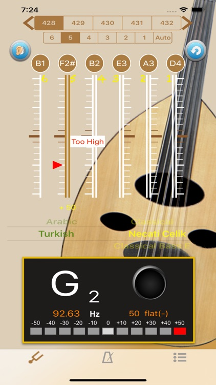 Oud Tuner - Tuner for Oud screenshot-2