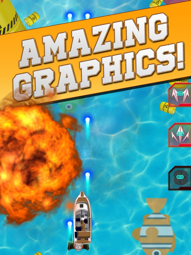 Boat Riot: Ultimate Shooter 3D, game for IOS