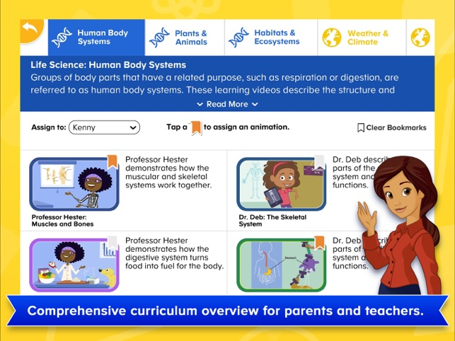 ‎ABCmouse Science Animations Screenshot
