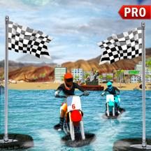 水上特技摩托车车手 - 海滩摩托车赛车