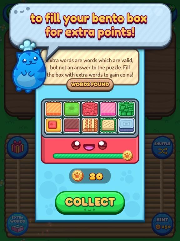 Sushi Cat Words screenshot 10