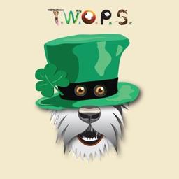 The Irish Wolfhound Stickers