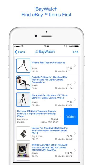 BayWatch - Alerts for eBay Screenshot