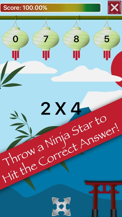 Math Facts Ninja - Math Games screenshot-3