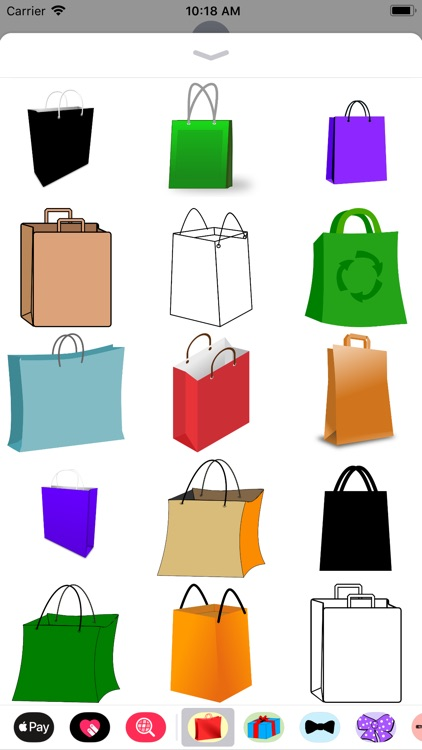 Shopping Bag Stickers
