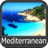 Mediterranean Sea GPS Charts