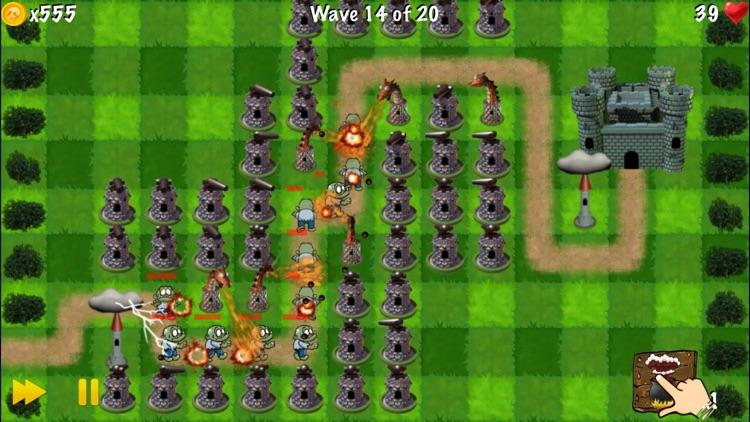 Zombie Tower Shooting Defense screenshot-4