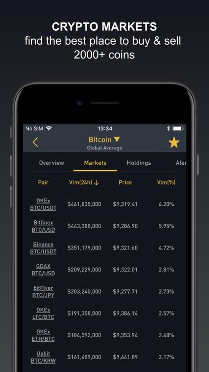 Crypto Tracker by BitScreener screenshot-4