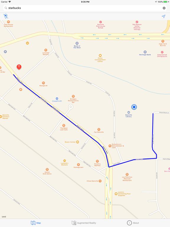 Augmented Reality Map screenshot