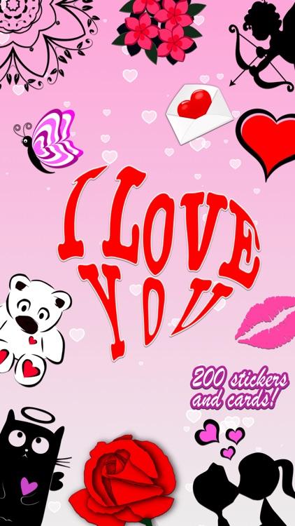 I Love You • Greeting cards screenshot-0