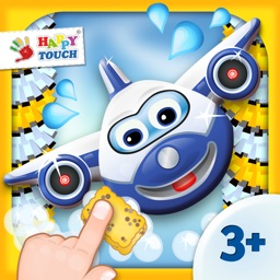 A Funny Planes Wash Game for Kids by HAPPYTOUCH®