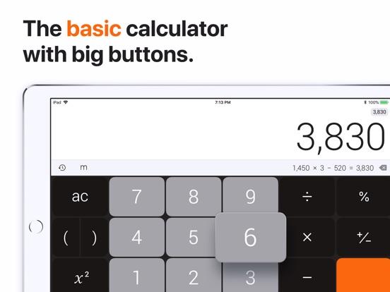 Screenshot #1 for The Calculator