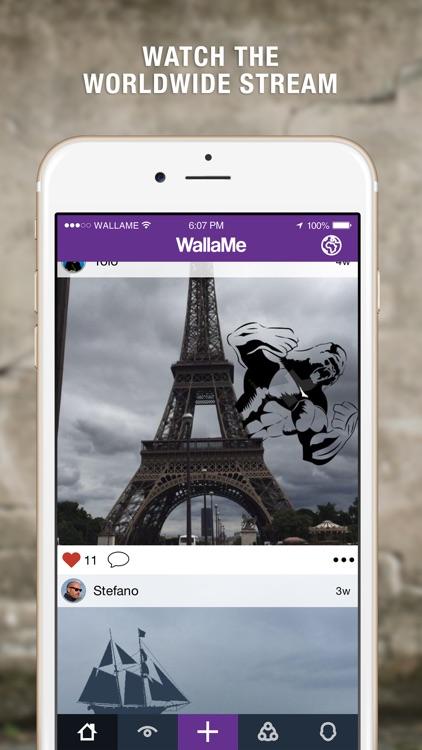 WallaMe - Augmented Reality screenshot-4