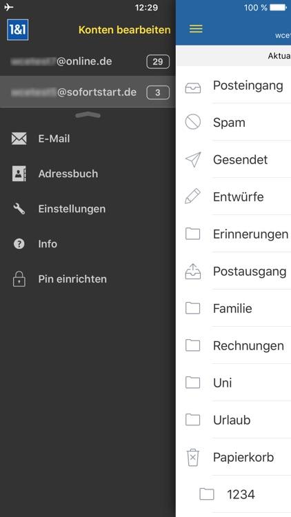1&1 Mail screenshot-3
