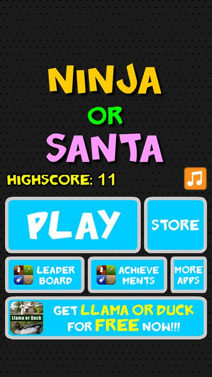 Ninja or Santa - Christmas Fun screenshot-4