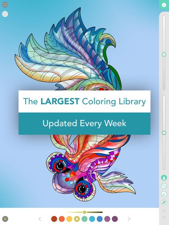 Pigment - Adult Coloring Book   App Price Drops