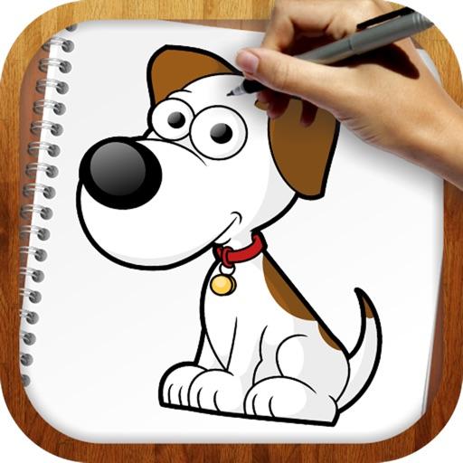 Как легко рисовать: собаки