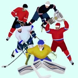 Hockey teams stickers