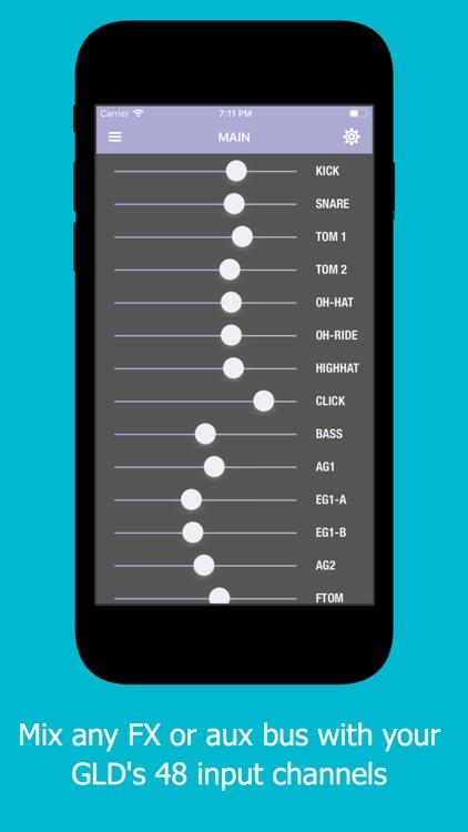 gldMix: Personal Monitor Mixer