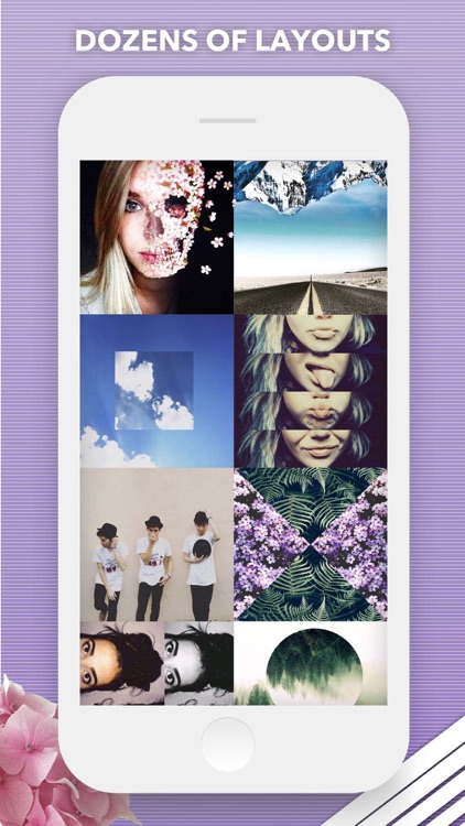 split pic collage maker layout by easy tiger apps llc