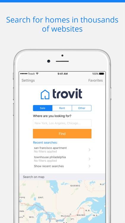Trovit Homes screenshot-0