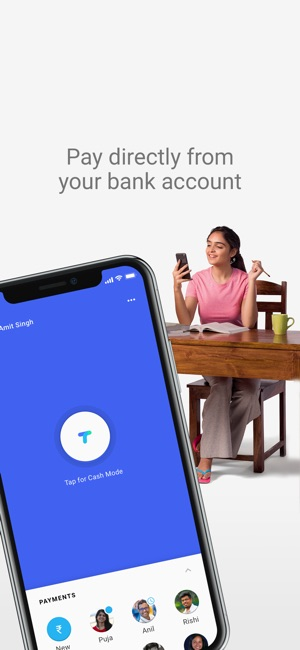 Tez - a payments app by Google Screenshot