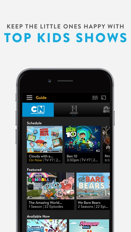 Sling TV: A La Carte TV. Watch Live Shows & Sports screenshot-4