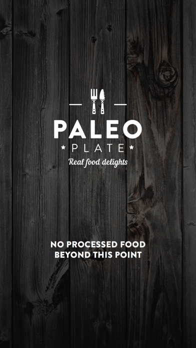 Paleo Plate Screenshot