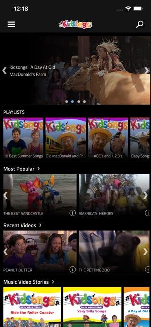 Kidsongs Nursery Rhymes Im App Store
