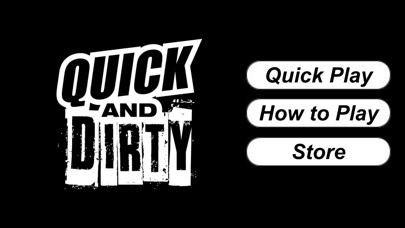 Quick And Dirty - Party Game