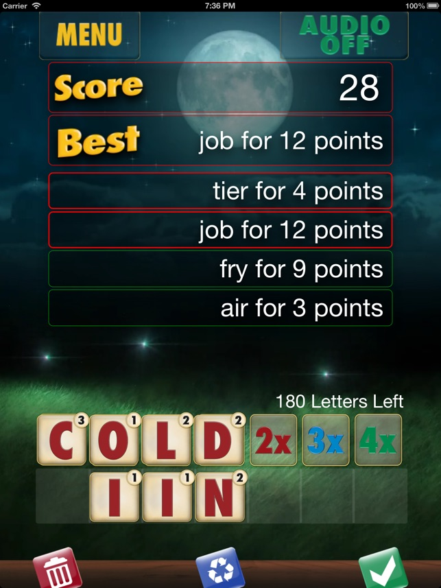 Full Deck Word Games Screenshot