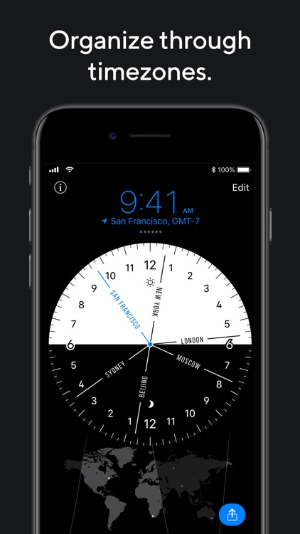 World Clock Pro Mobile screenshot-0