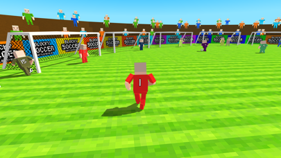 Blocky Soccer Battle Royale Screenshot