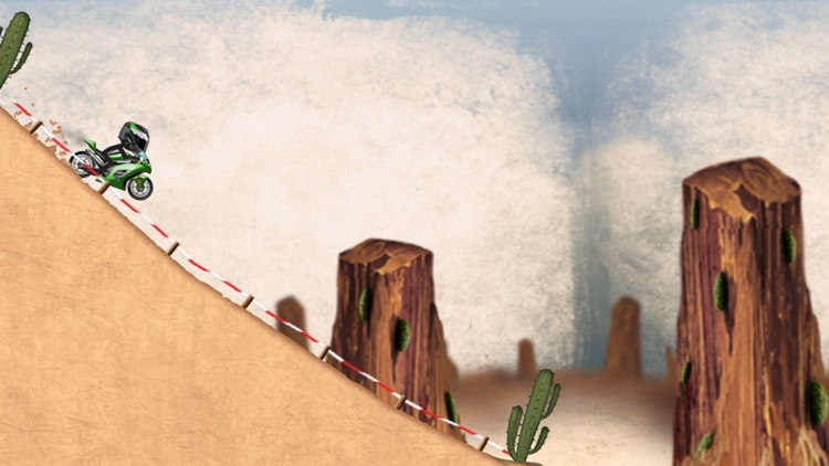 Stickman Downhill - Motocross screenshot-2