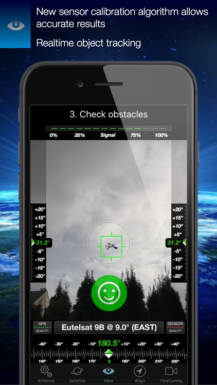 SatFinder screenshot-2