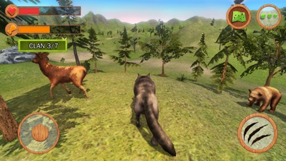 Wild Animals Clan Simulator 3D screenshot two