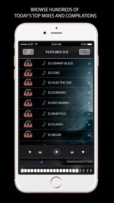 Image of Dream Team Djs for iPhone