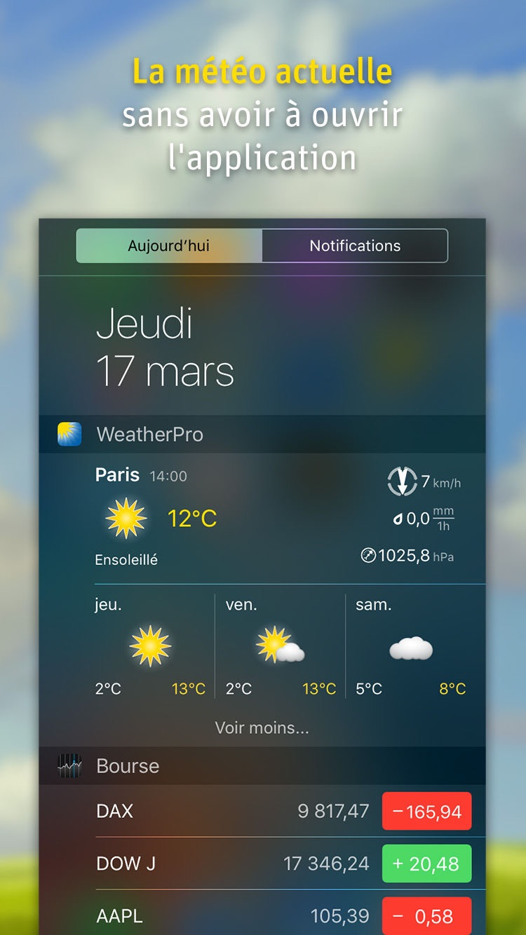 WeatherPro Screenshot