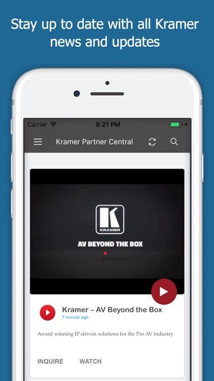 Kramer Channel Partner Central screenshot-3