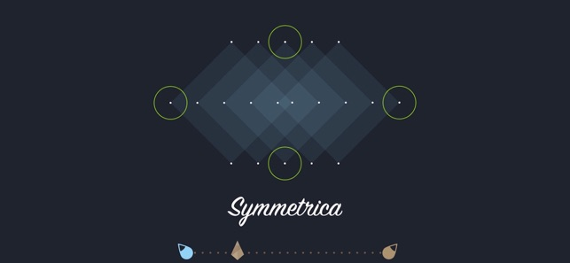 Symmetrica - Minimalistic game Screenshot