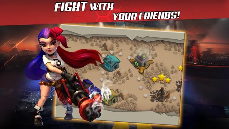 X-War: Clash of Zombies screenshot-4