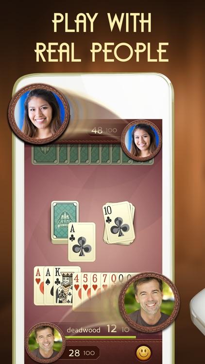 Grand Gin Rummy: Fun Card Game screenshot-0