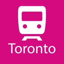 Toronto Rail Map Lite