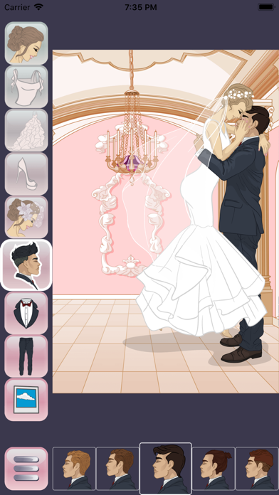 Wedding Dress Up Design screenshot two