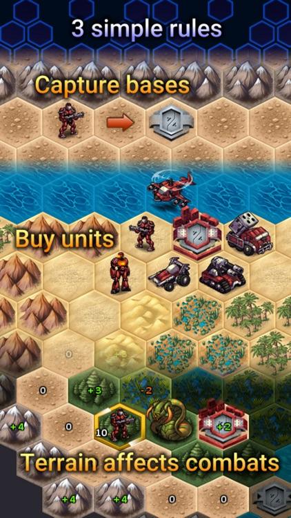UniWar: Multiplayer Strategy screenshot-0