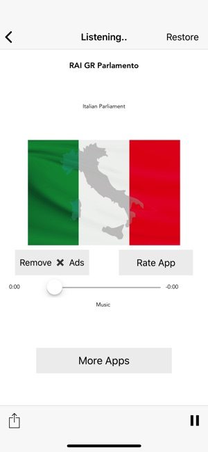 Radio Italia Live Stream on the App Store