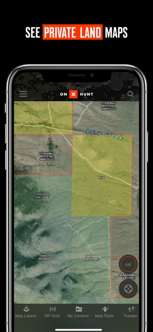 OnX Hunt GPS Hunting App On The App Store - Tva hunting maps