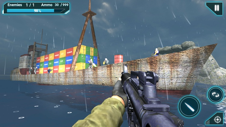 Army Battleship Attack