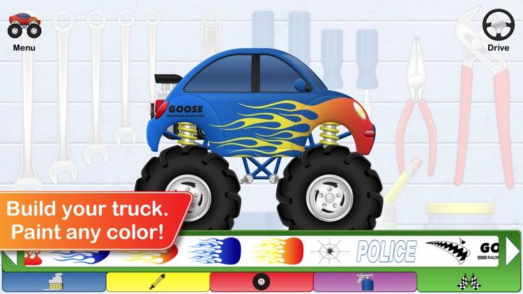 Monster Truck Doodle